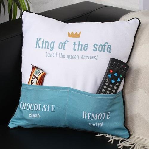 Perna decorativa King of the sofa 1