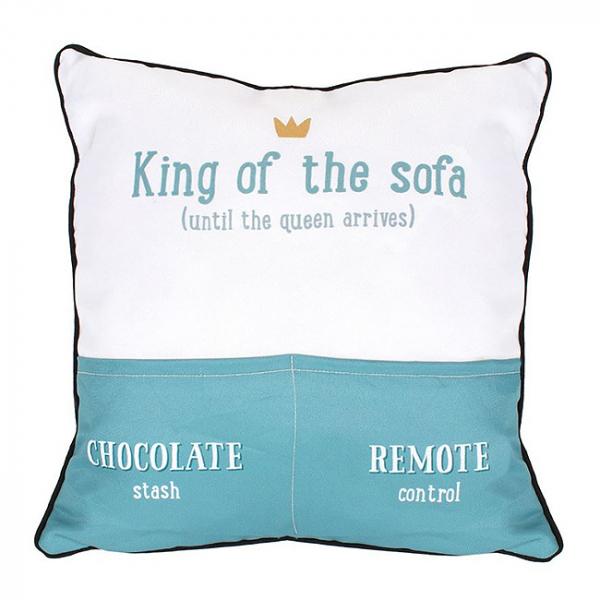 Perna decorativa King of the sofa 0