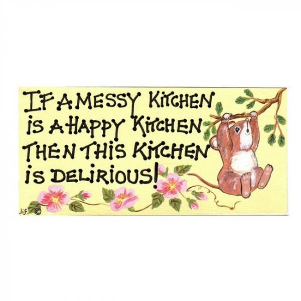 Placuta decorativa Messy Kitchen 0