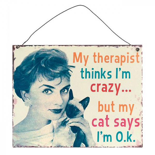 Placuta decorativa My therapist 0