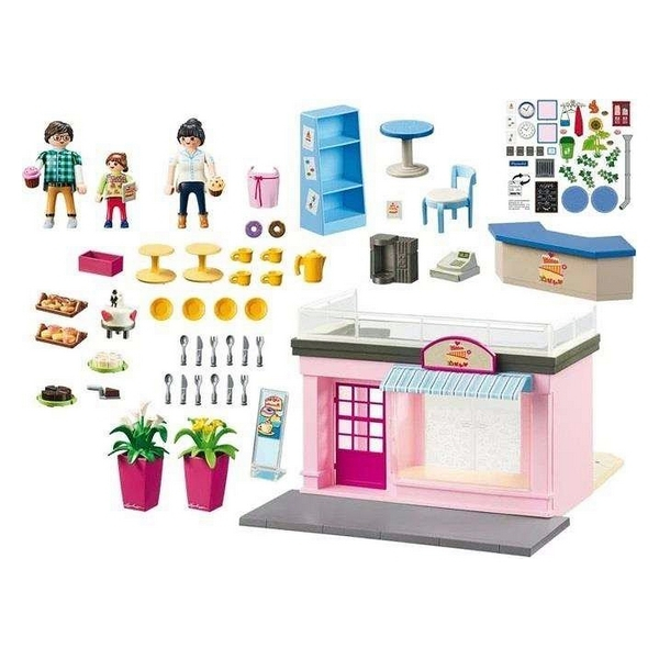 Playmobil Coffee Shop 108 piese 4+ 2