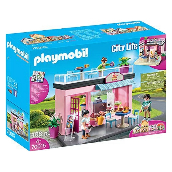 Playmobil Coffee Shop 108 piese 4+ 0