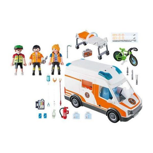 Playmobil Emergency Ambulance 4+ 1