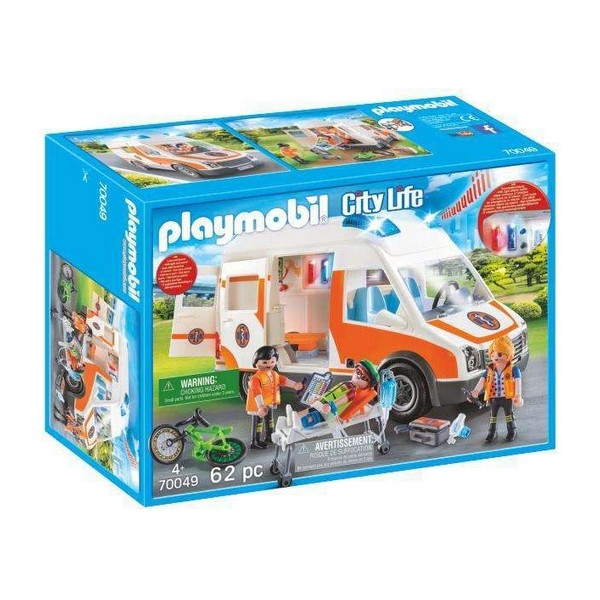Playmobil Emergency Ambulance 4+ 0