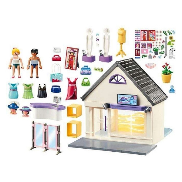 Playmobil My Fashion Store 100 piese 4+ 1