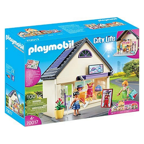 Playmobil My Fashion Store 100 piese 4+ 0
