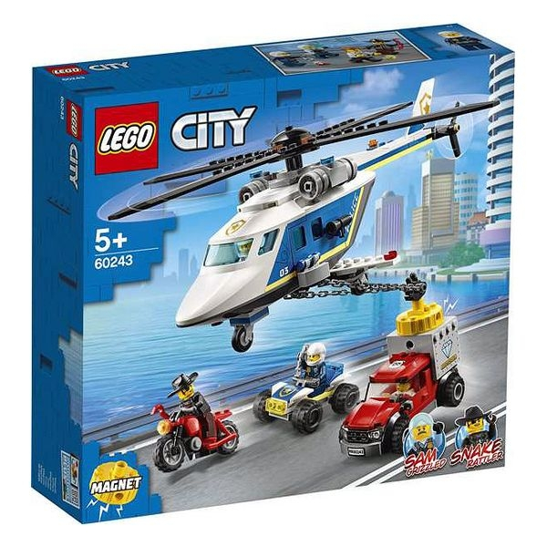Playset Lego Police Helicopter Chase 5+ 0