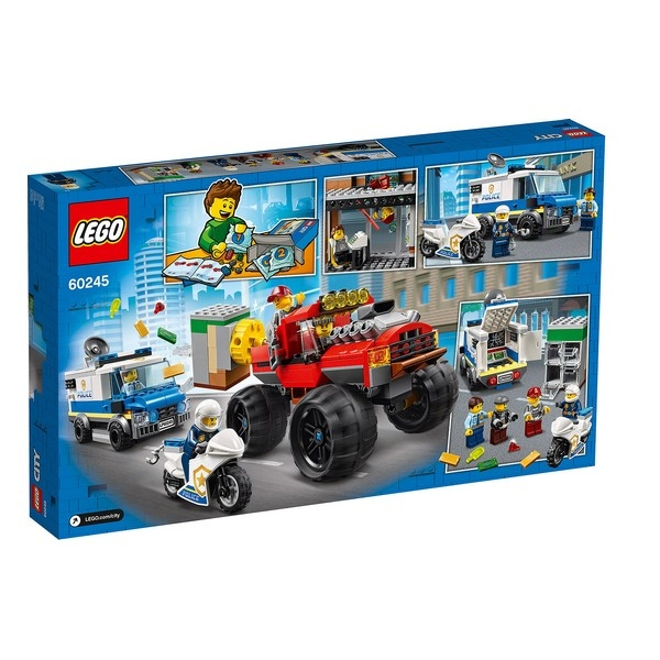 Playset Lego Police Monster Truck 5+ 2