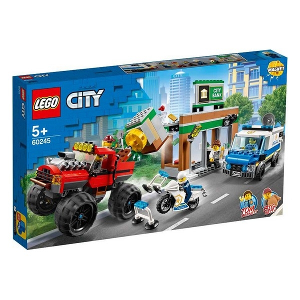 Playset Lego Police Monster Truck 5+ 0