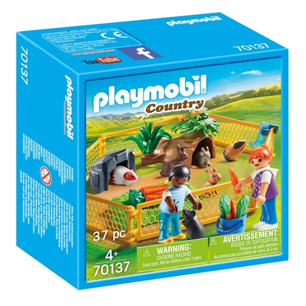 Playmobil Country Farm 37 piese 4+ 0
