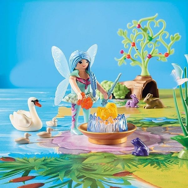 Playmobil Fairies Play Map 29 piese 5+ 1