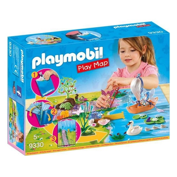 Playmobil Fairies Play Map 29 piese 5+ 0
