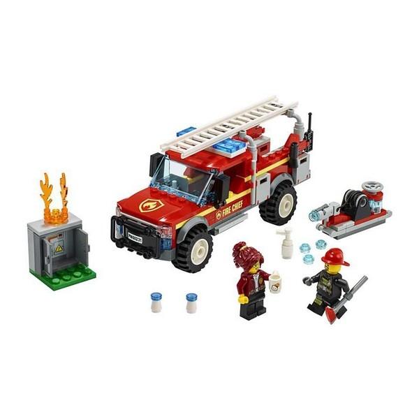 Playset Lego Fire Truck Intervention 201 piese 5+ 1