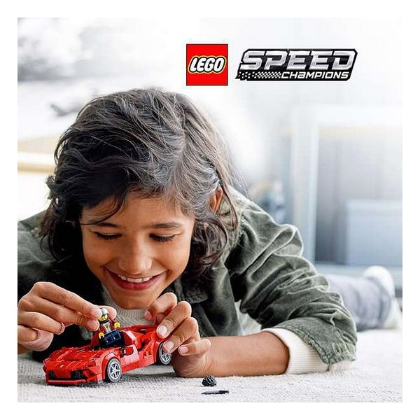 Playset Lego Ferrari F8 7+ [1]
