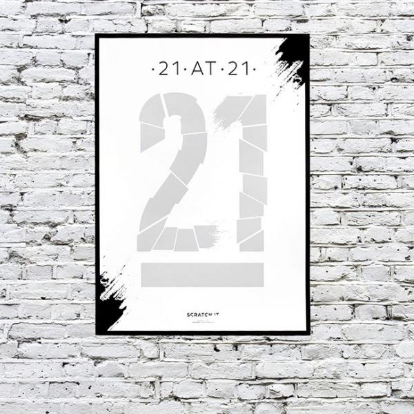 Poster razuibil 21 de lucruri de facut la 21 3