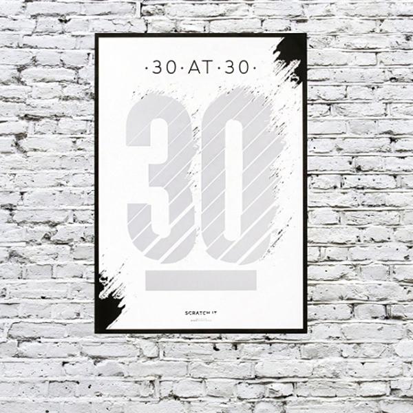 Poster razuibil 30 de lucruri de facut la 30 ani 1