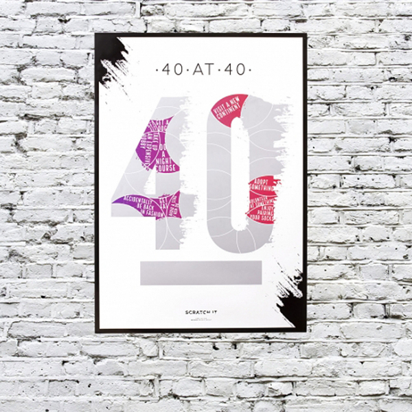 Poster razuibil 40 de lucruri de facut la 40 ani [0]