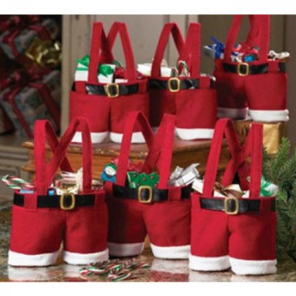 Punga cadou Santa's Pants 5