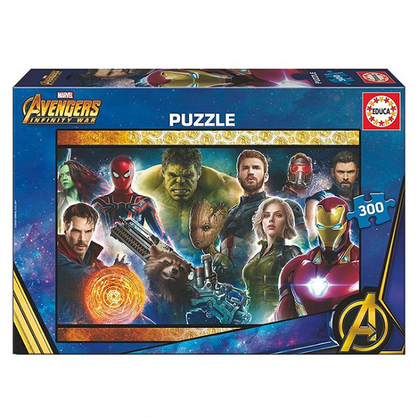Puzzle Avengers 300 piese 6+ 0