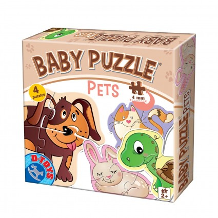 Puzzle Baby Pets 2+  0