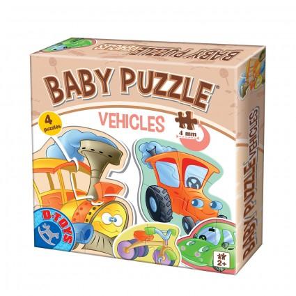 Puzzle Baby Vehicles 2+   [0]