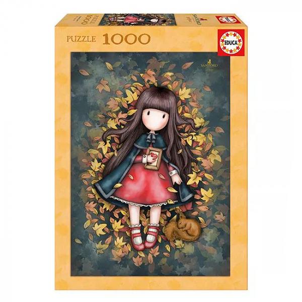 Puzzle Gorjuss Autumn Leaves 1000 piese 6+ 0