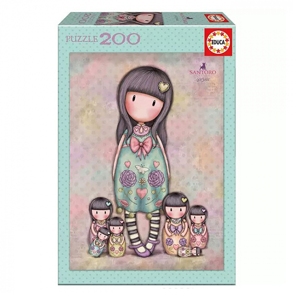 Puzzle Gorjuss Seven Sisters 200 piese 6+ 0