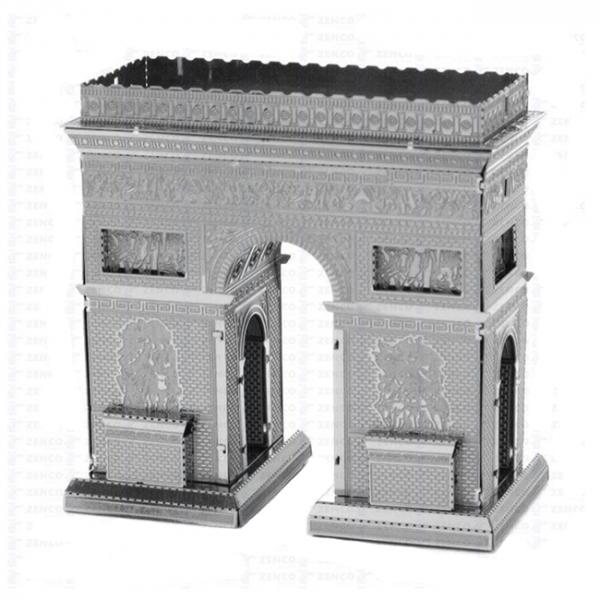 Puzzle metalic nano 3D - Arc de triumf 1
