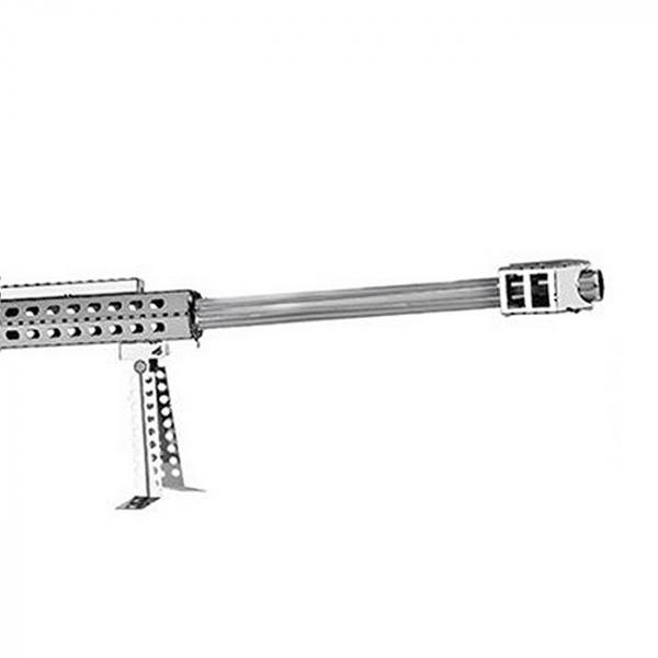 Puzzle metalic nano 3D - Arma cu luneta 2