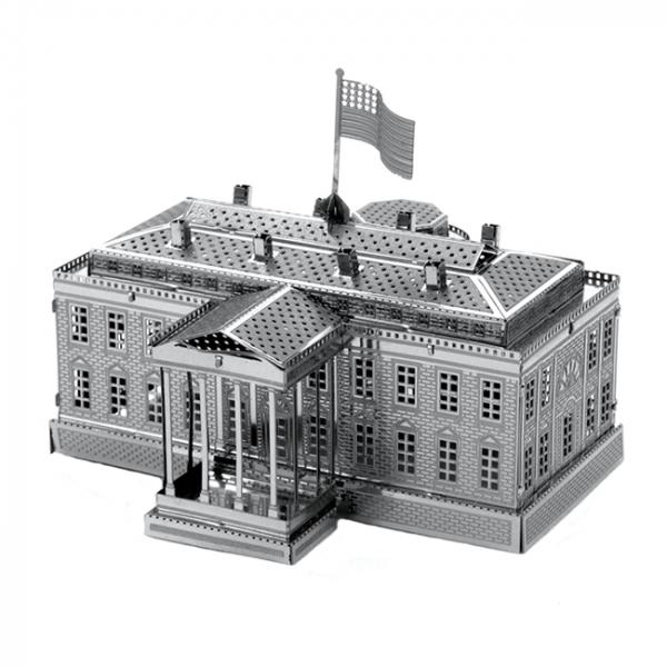 Puzzle metalic nano 3D - Casa Alba [1]