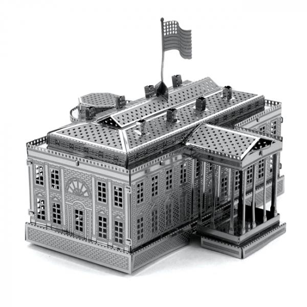 Puzzle metalic nano 3D - Casa Alba [3]