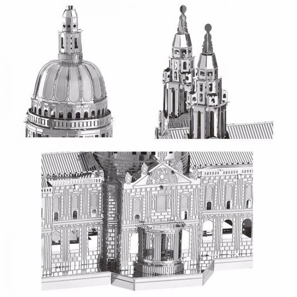 Puzzle metalic nano 3D - Catedrala St Paul 1