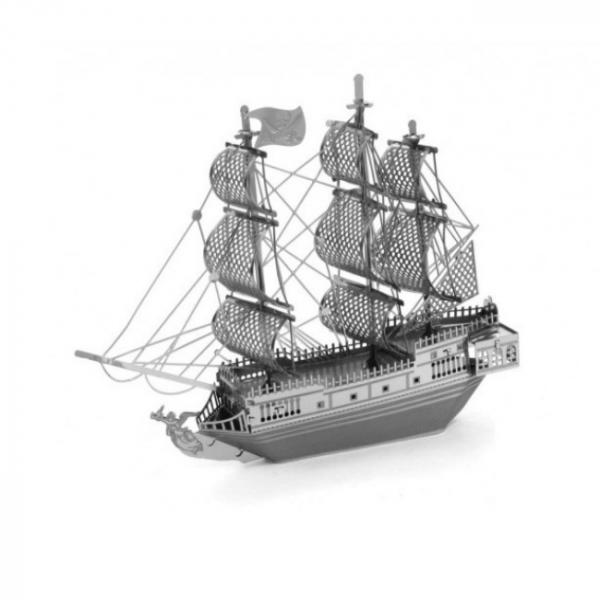 Puzzle metalic nano 3D  – Corabia Black Pearl 0
