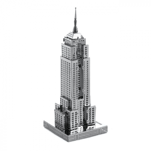 Puzzle metalic nano 3D - Empire State Building 3