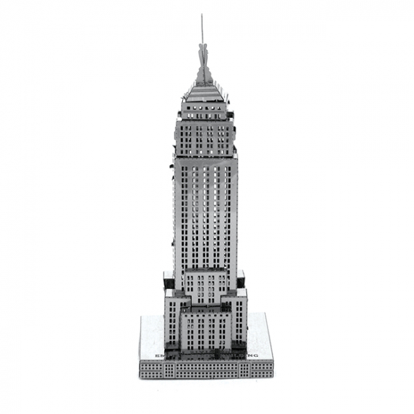 Puzzle metalic nano 3D - Empire State Building 0