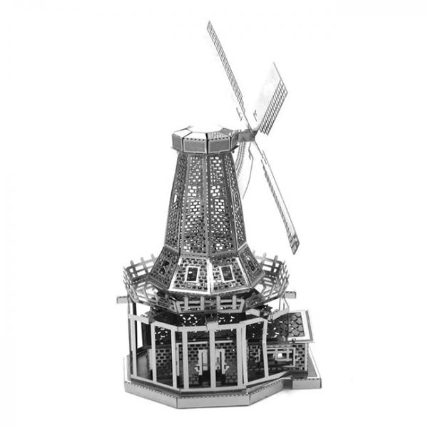 Puzzle metalic nano 3D - Moara de vant 2