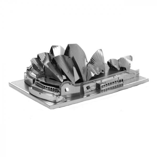 Puzzle metalic nano 3D - Opera din Sydney 0
