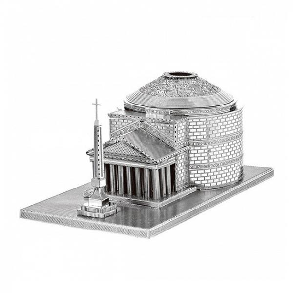 Puzzle metalic nano 3D - Pantheon Roman 0