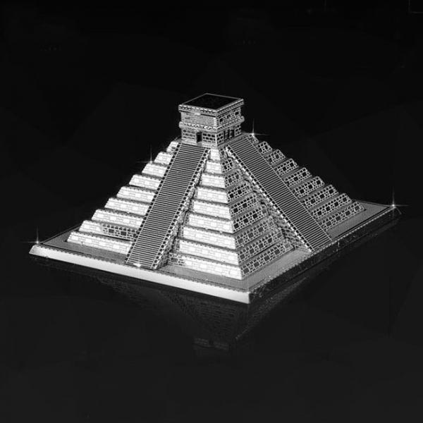 Puzzle metalic nano 3D - Piramida Maya 1