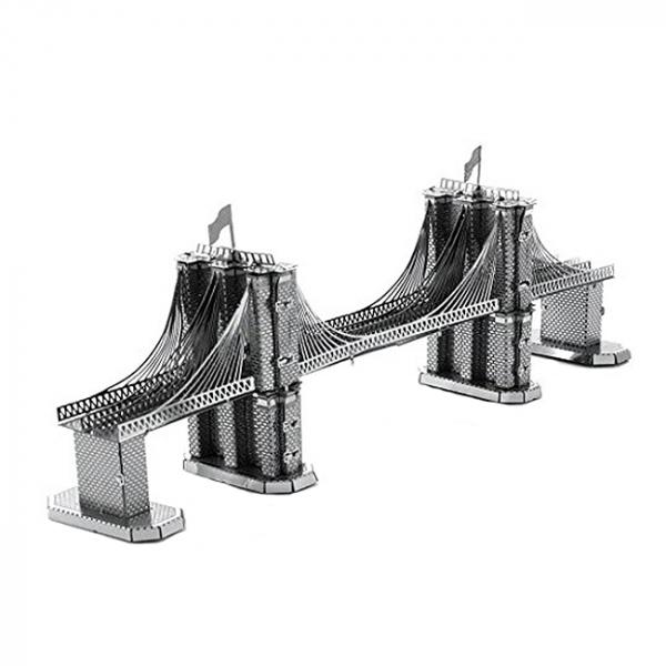 Puzzle metalic nano 3D - Pod Brooklyn [0]