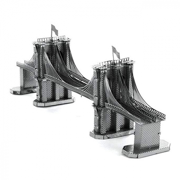 Puzzle metalic nano 3D - Pod Brooklyn [3]