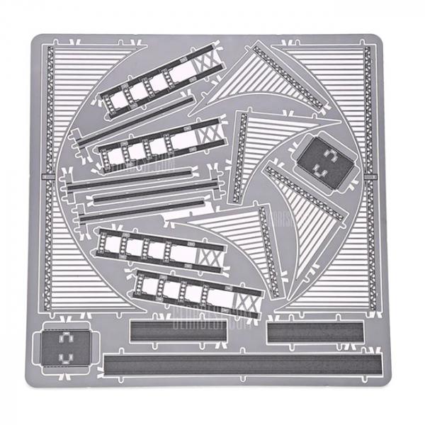 Puzzle metalic nano 3D - Pod Golden Gate 1