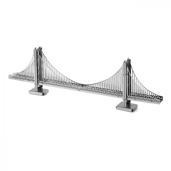 Puzzle metalic nano 3D - Pod Golden Gate 0