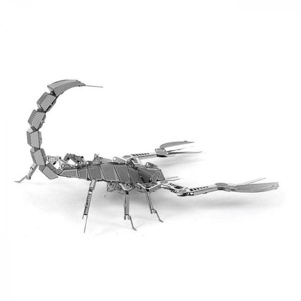 Puzzle metalic nano 3D - Scorpion 3