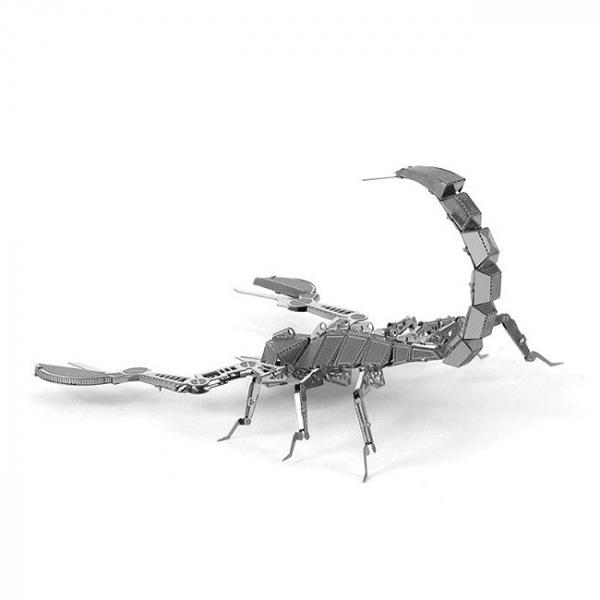 Puzzle metalic nano 3D - Scorpion 2