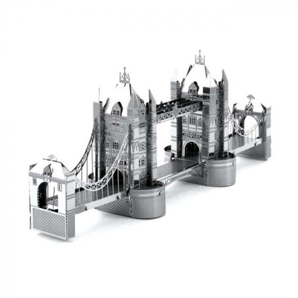 Puzzle metalic nano 3D - Tower Bridge 3