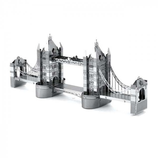 Puzzle metalic nano 3D - Tower Bridge 0