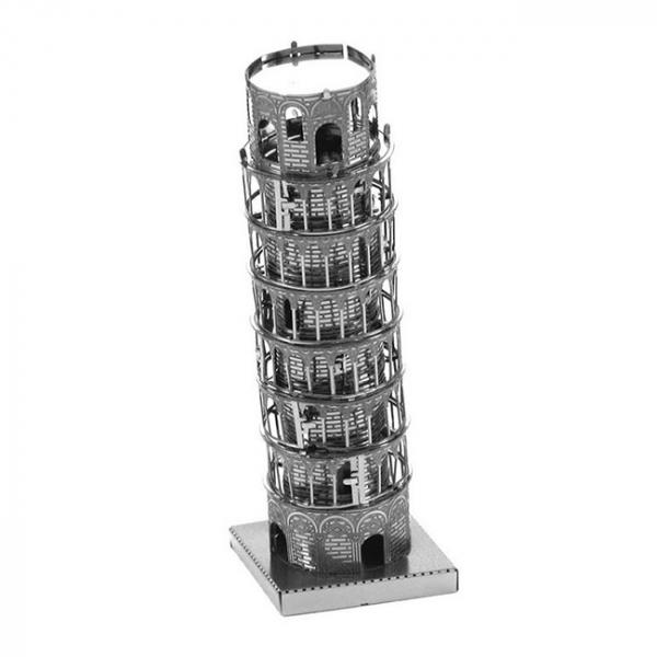 Puzzle metalic nano 3D - Turnul din Pisa 1
