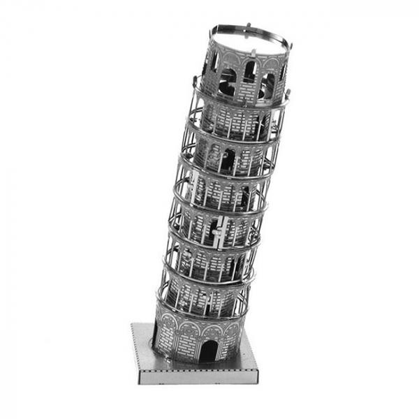 Puzzle metalic nano 3D - Turnul din Pisa 0