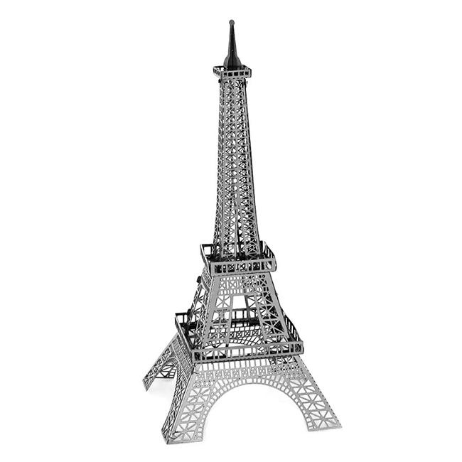 Puzzle metalic nano 3D - Turnul Eiffel 0